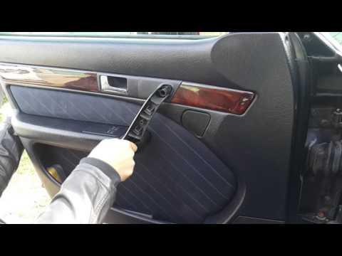 Снятие обшивки дверей на Audi 100 C4