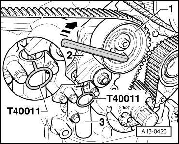 Замена ремня ГРМ на Audi А6 С6