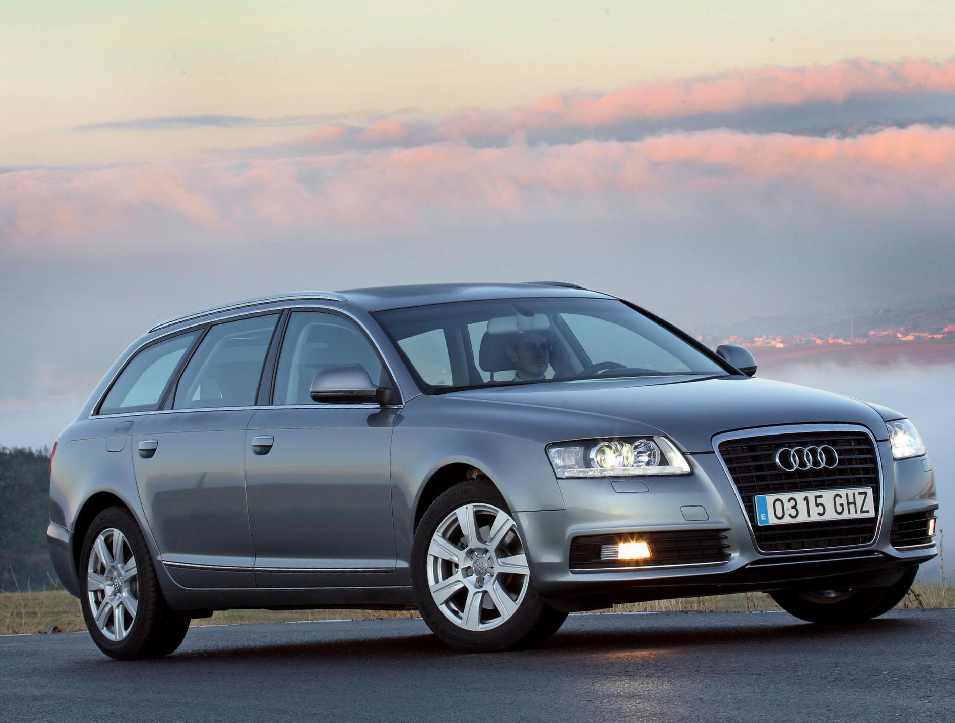 Настройка функций наружного освещения на Audi А6 С6