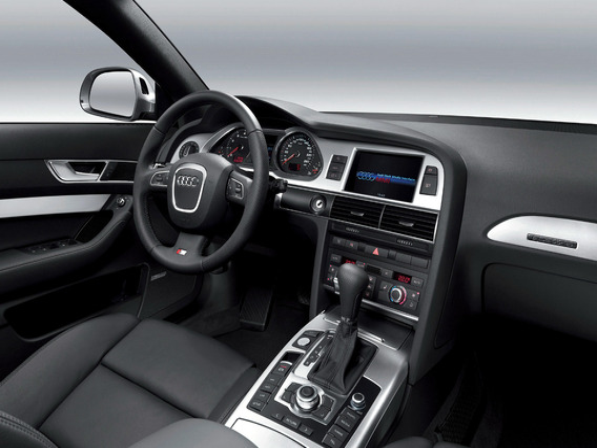 Скрытое меню Audi А6 С6