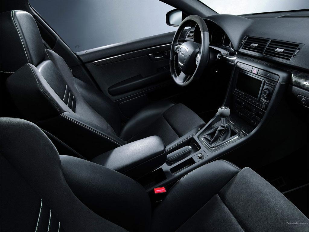 Снятие передних сидений на Audi A4 B7