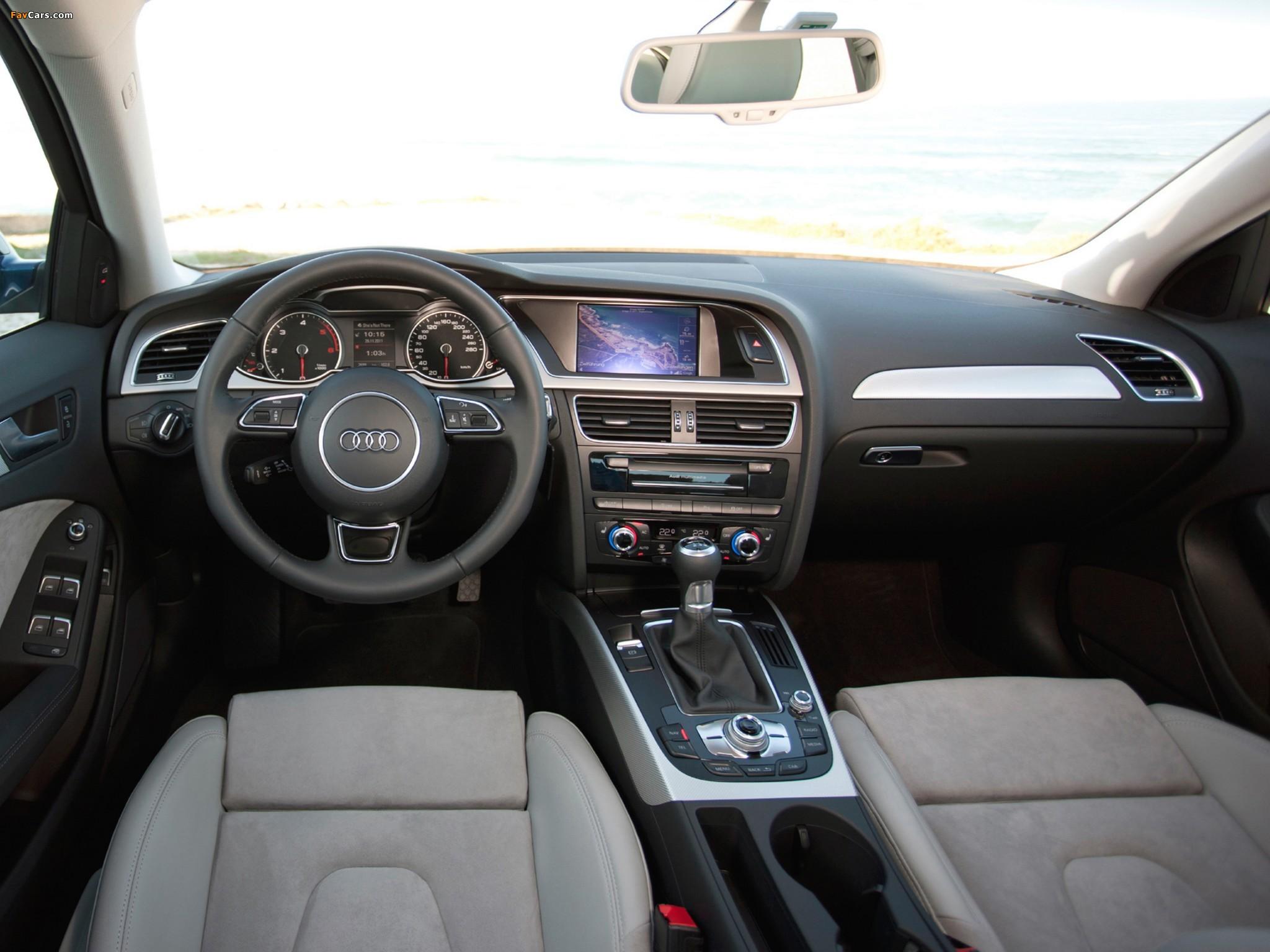 Какие файлы может проигрывать магнитола на Audi А4 В8?