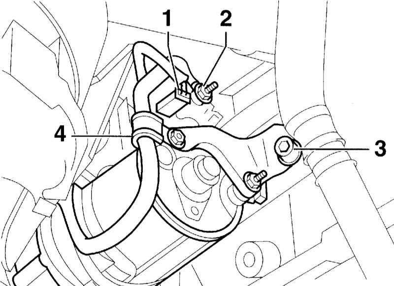 Снятие стартера на Audi А4 В7
