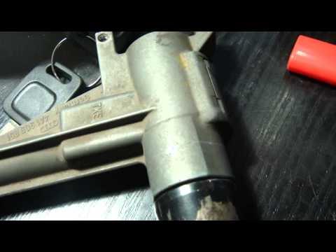 Замена личинки замка двери на Audi А4 В8