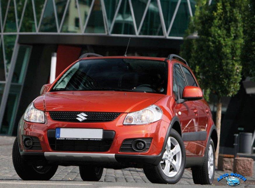 Внедорожные возможности Suzuki SX4