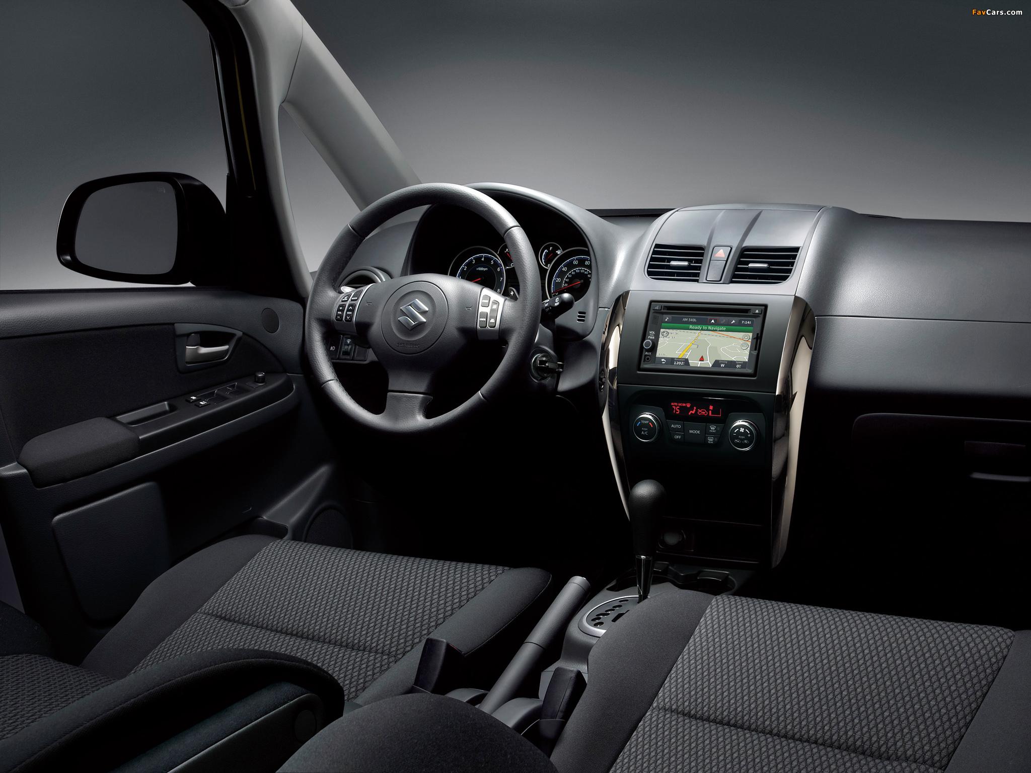 Самостоятельная диагностика стояночного тормоза и рулевого управления Suzuki SX4