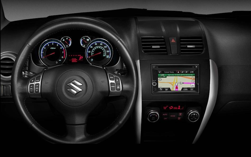 Особенности штатной магнитолы Suzuki SX4