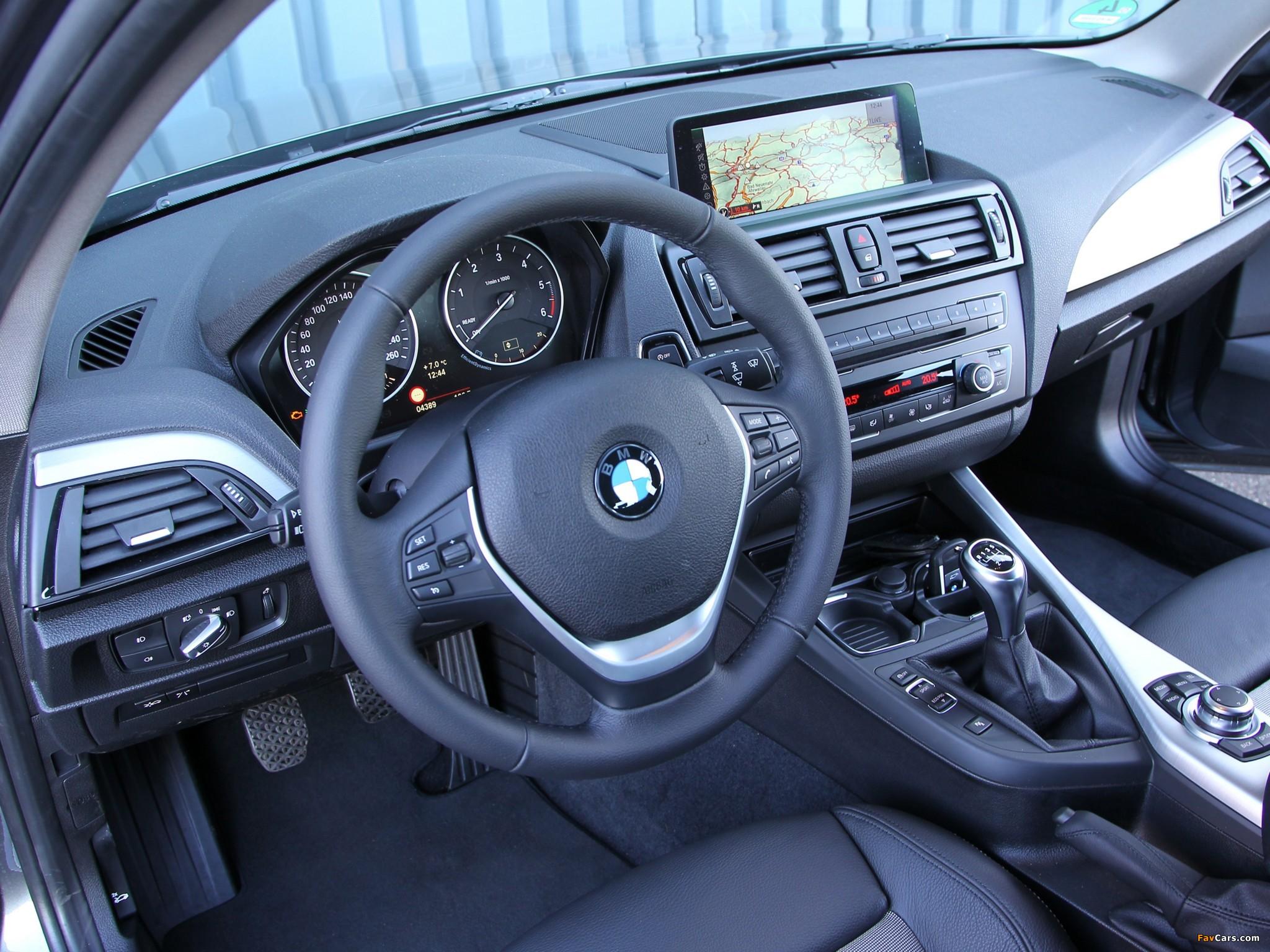 Замена центральной консоли на BMW 1-Series F20