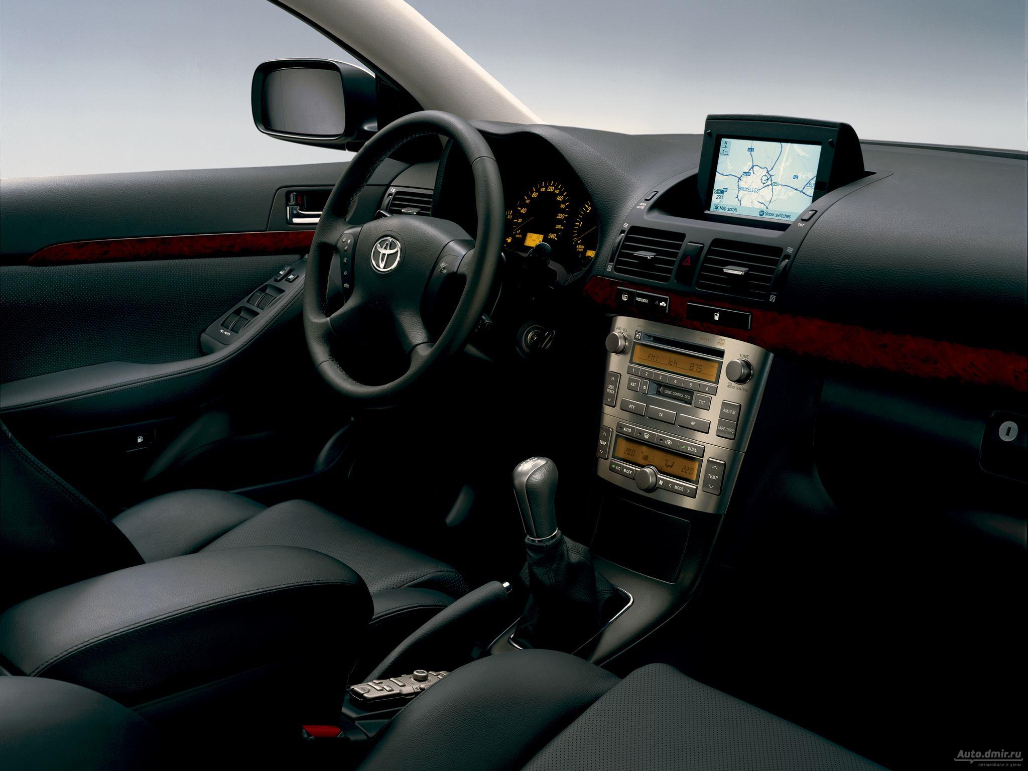 Проблемы с трансмиссией Toyota Avensis II