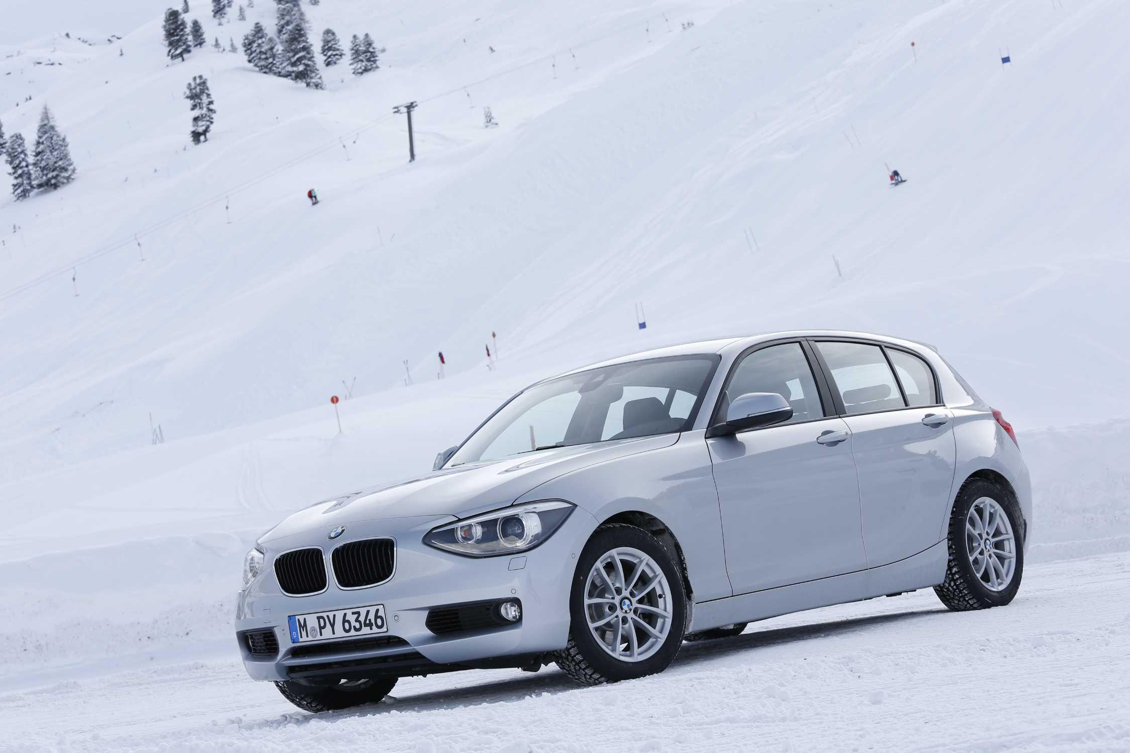 Снятие переднего бампера на BMW 1-Series F20
