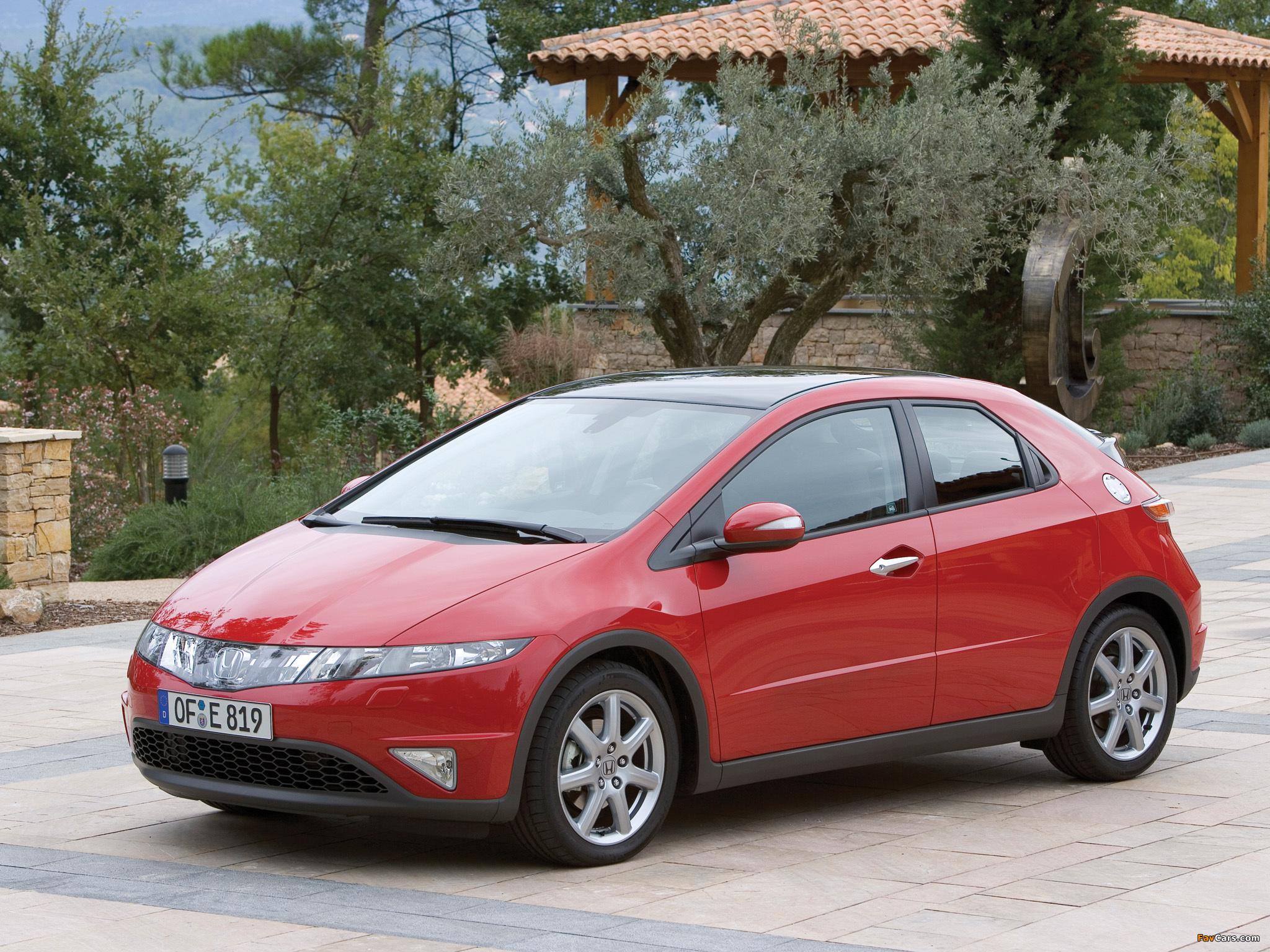 Замена блока HID на Honda Civic VIII