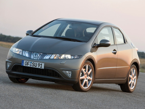 Замена лампы HID на Honda Civic VIII