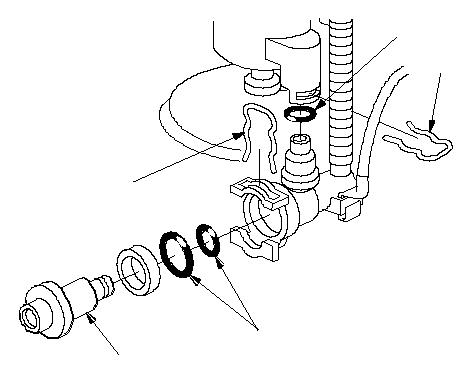 Замена регулятора давления топлива (R18A) на Honda Civic 8