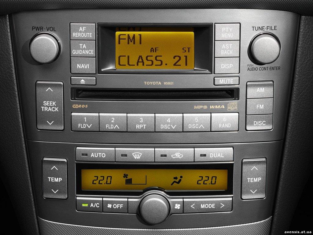 Технические жидкости для Toyota Avensis II