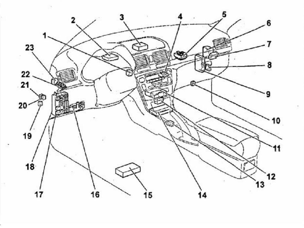 Регулировка тяги управления АКПП на Toyota Avensis 2