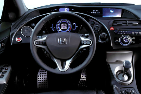 Проверка/замена звукового сигнала на Honda Civic 8