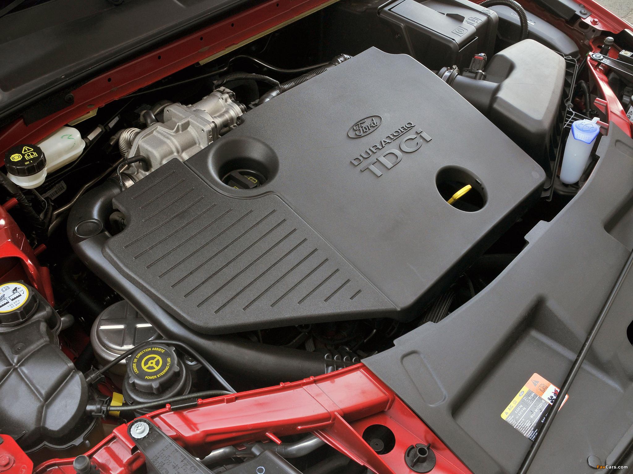 Бензиновые и дизельные двигатели на Ford Mondeo III