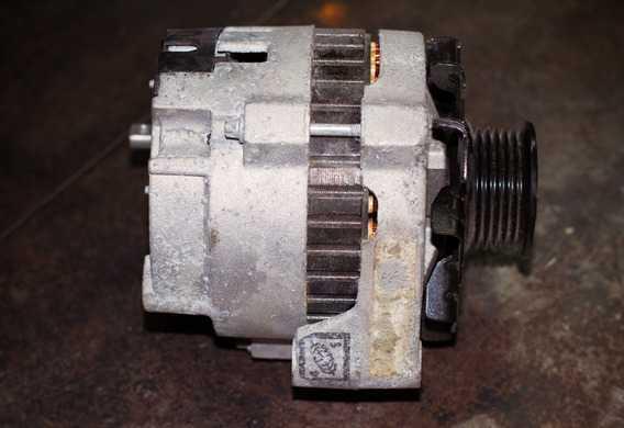 Номера расходников для ремонта генератора Visteon на Ford Mondeo III