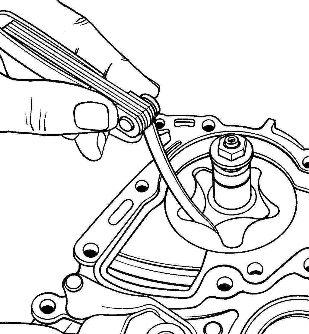 Проверка зазора колесного подшипника на Ford Mondeo III фото
