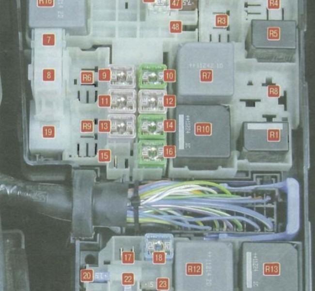 Проверка звукового сигнала на Ford Mondeo III фото