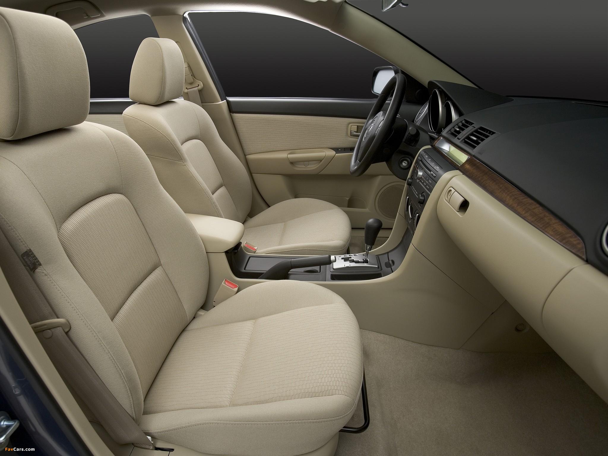 Устранение скрипа сиденья на Mazda 3 (I)