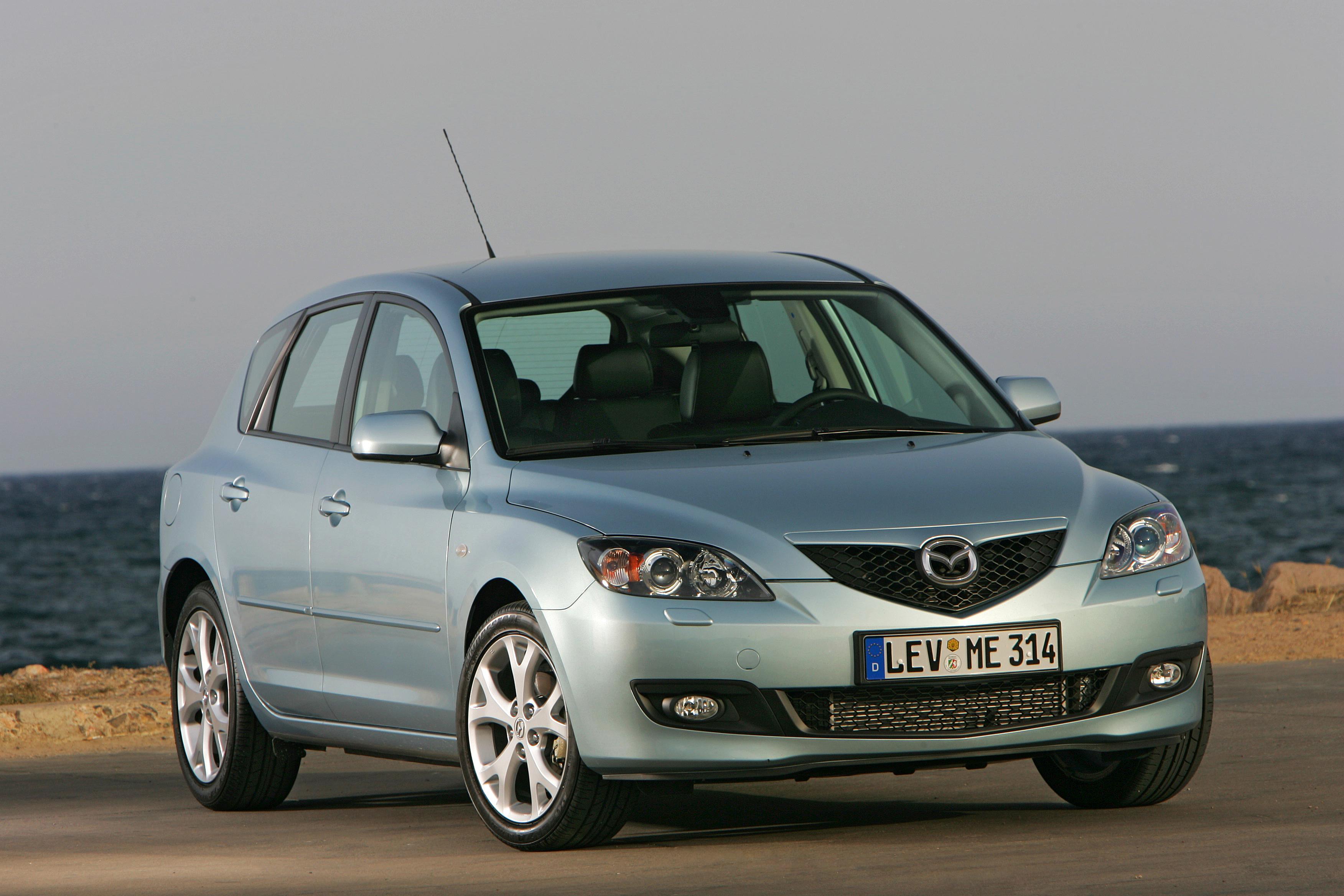 Буксировка Mazda 3 (I)