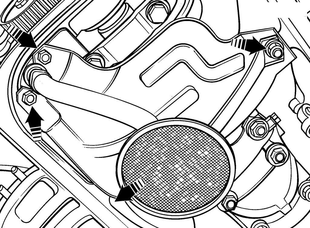Снятие и установка управляющего масляного клапана (OCV) (L3) на Mazda 3