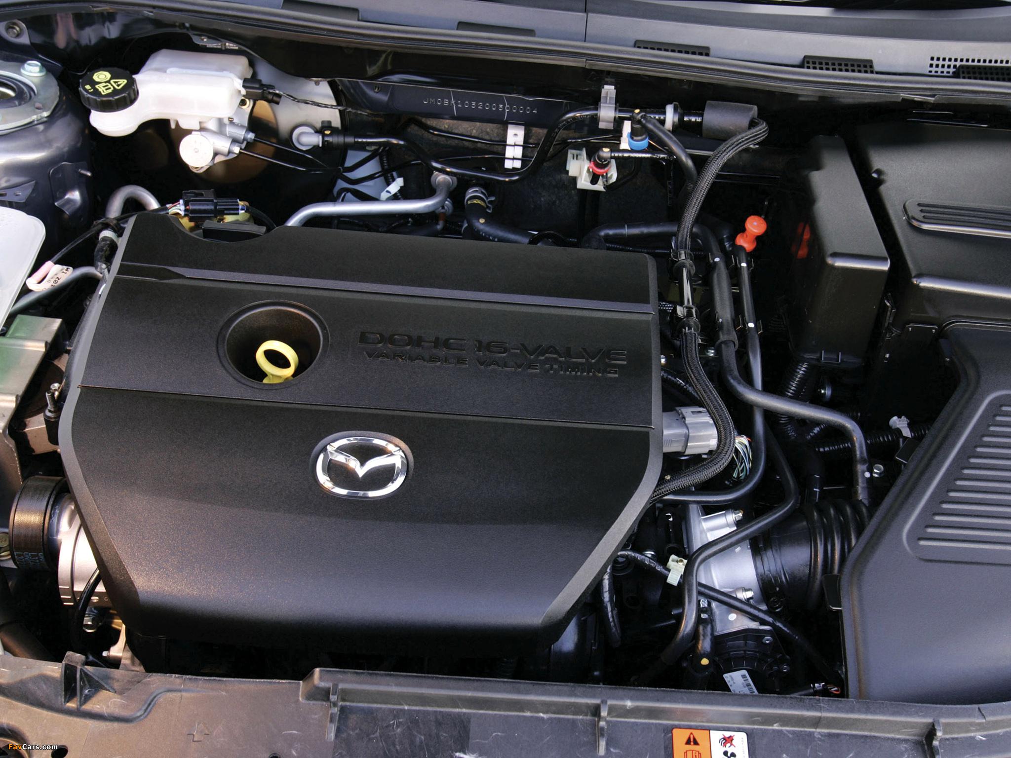 Проверка исполнительного механизма изменения фаз газораспределения (L3) на Mazda 3 (I)