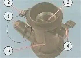 Проверка и регулировка троса привода дроссельной заслонки на Mazda 3 (I)