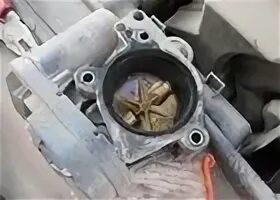 Самостоятельная промывка дроссельной заслонки на Citroen C4