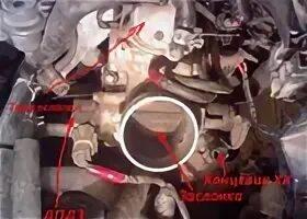 Снятие и установка датчика дроссельной заслонки на Mazda 3 (I)