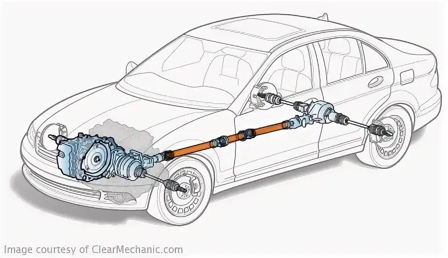 Снятие и установка приводного вала МКПП на Mazda 3 (I)
