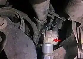 Снятие и установка датчика спидометра автомобиля на Mazda 3 (I)