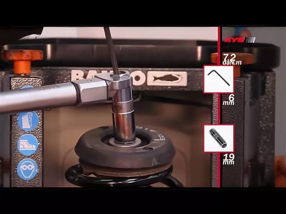 Замена задних амортизаторов на Citroen C4