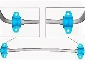Стойки и втулки стабилизатора поперечной устойчивости на Citroen C4