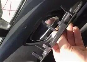 Разборка передней двери на Citroen C4