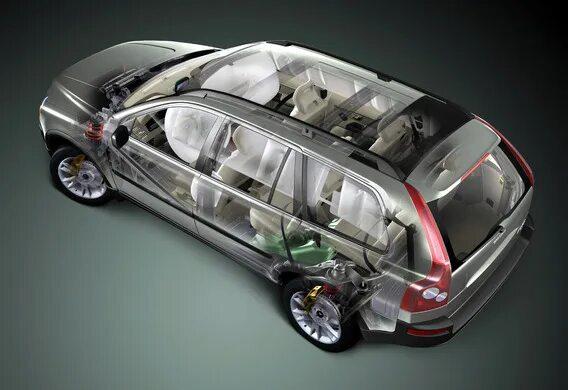 Особенность работы стеклоочистителей Volvo XC90