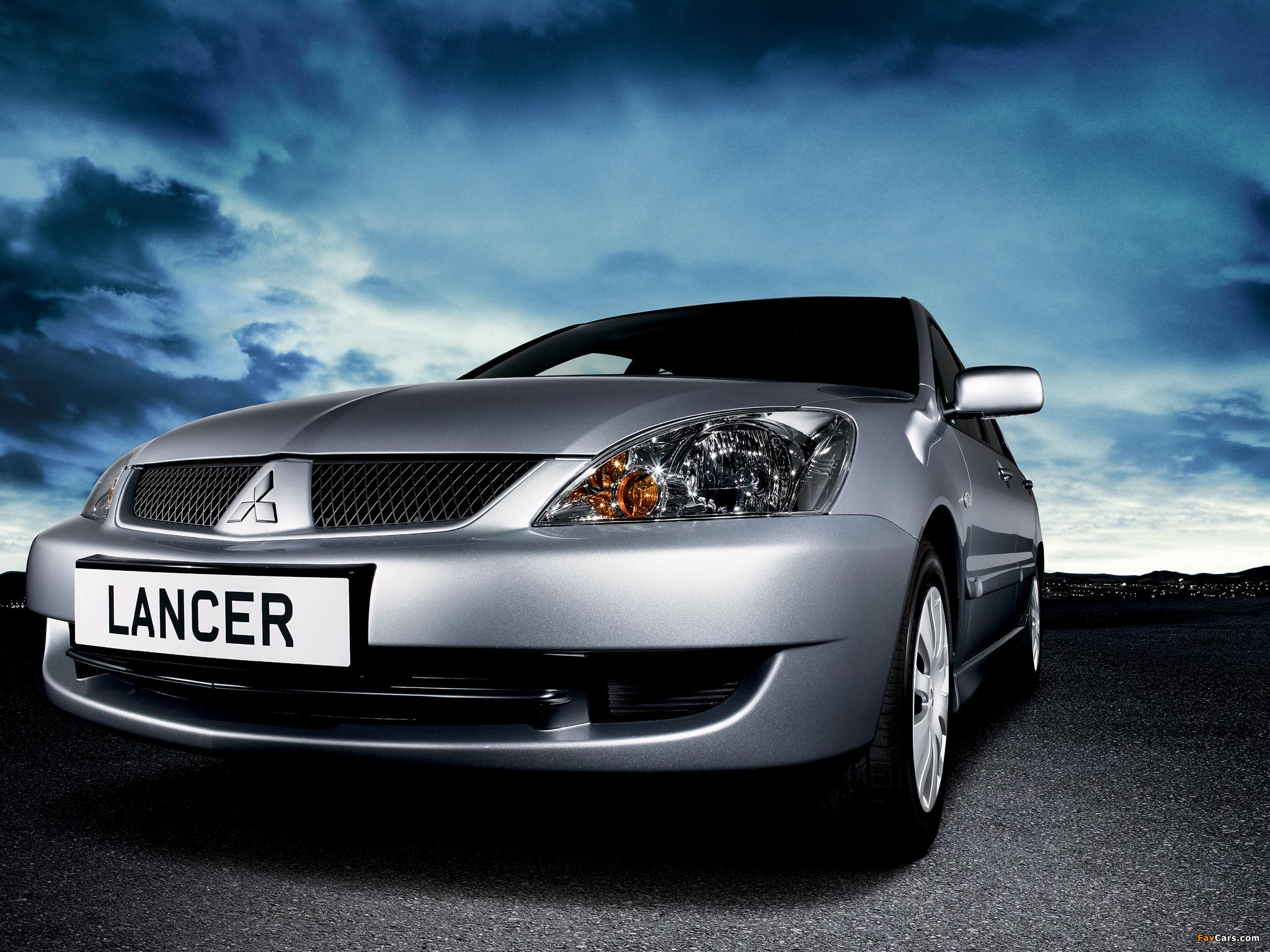 Каких опций нет в Mitsubishi Lancer 9?