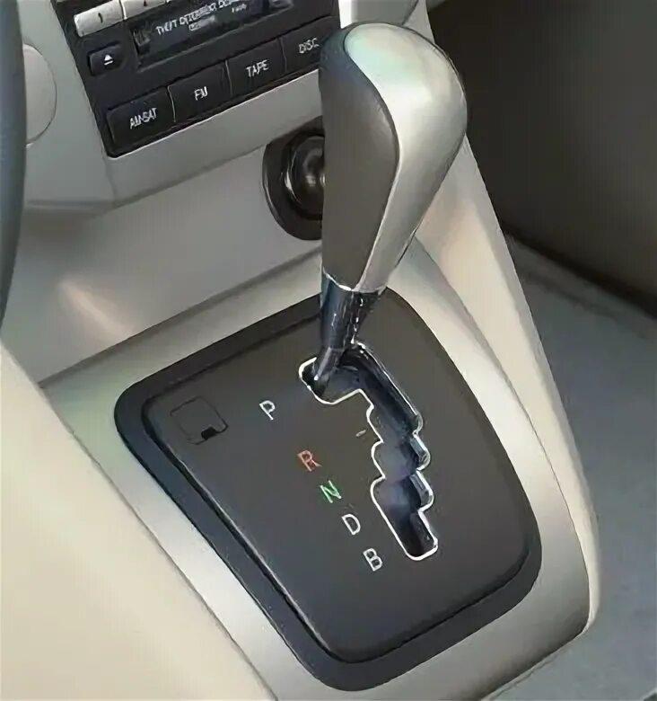 На каких комплектациях Lexus  RX II АКПП имеет ручной режим?