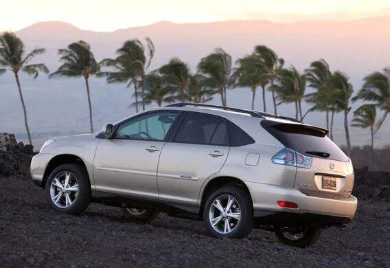 Как быстро отличить переднеприводный Lexus RX330 II от полноприводного?