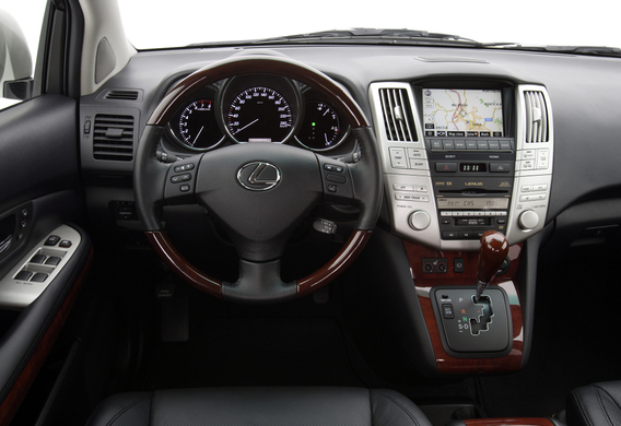 Падает давление масла на Lexus RX II