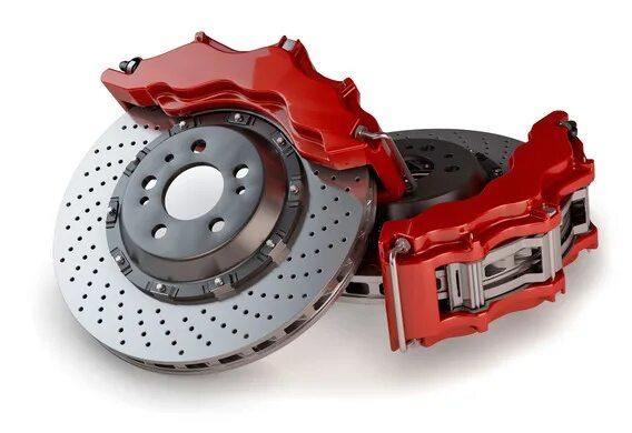 Тюнинговые тормозные диски DBA для Lexus RX II