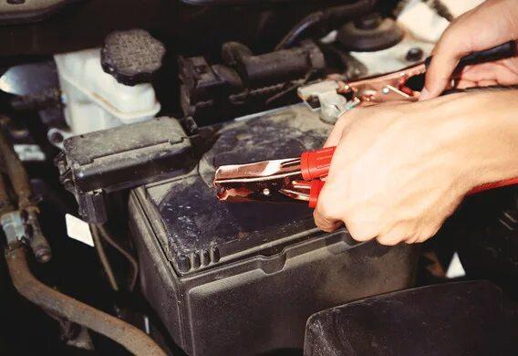 Зарядка АКБ от стороннего источника на Toyota Prius