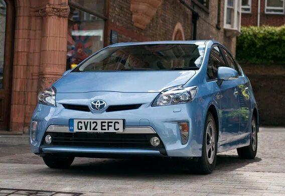 Буксировка автомобиля Toyota Prius