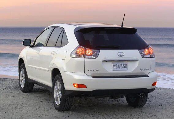 Замена левого зеркала на Lexus RX330 на панорамное