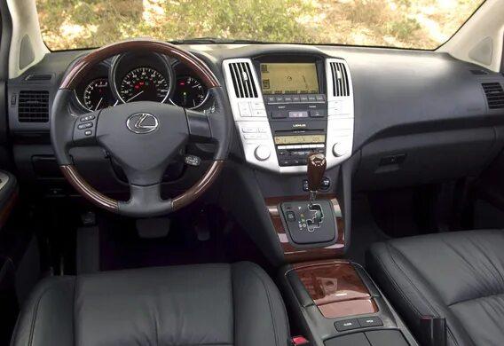 Демонтаж центральной консоли на Lexus RX II