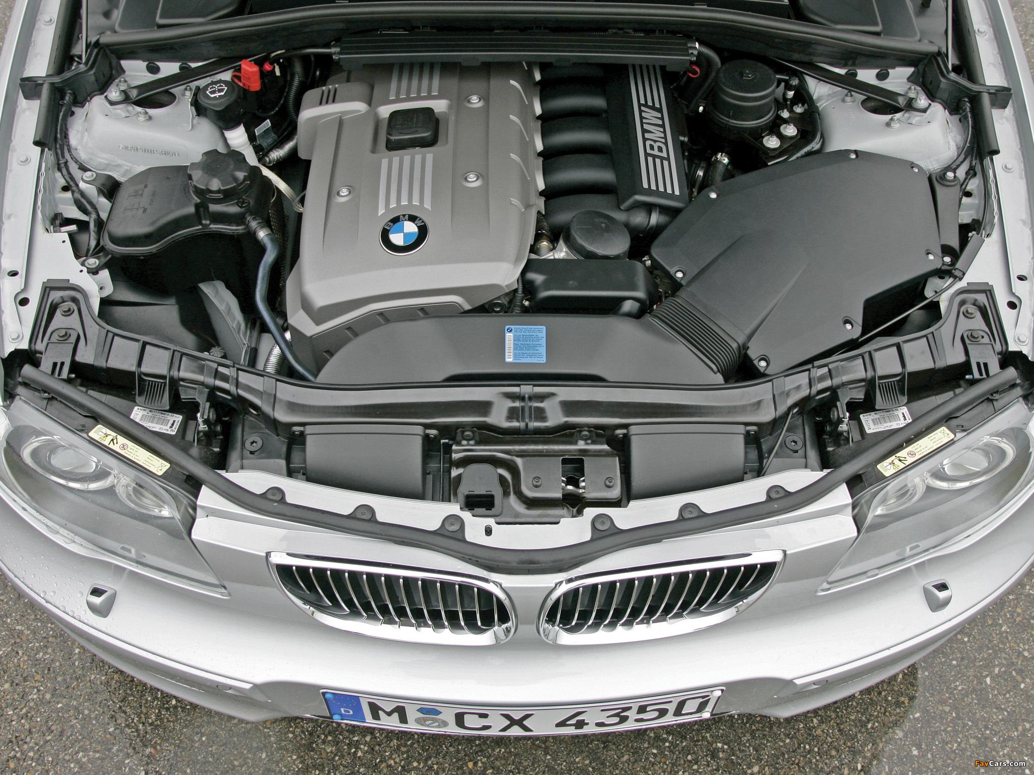 Замена масла на BMW 1-Series Е87