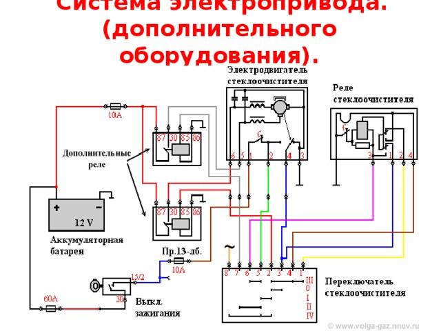 Прерывистый режим дворников с регулируемой паузой на Chevrolet Spark