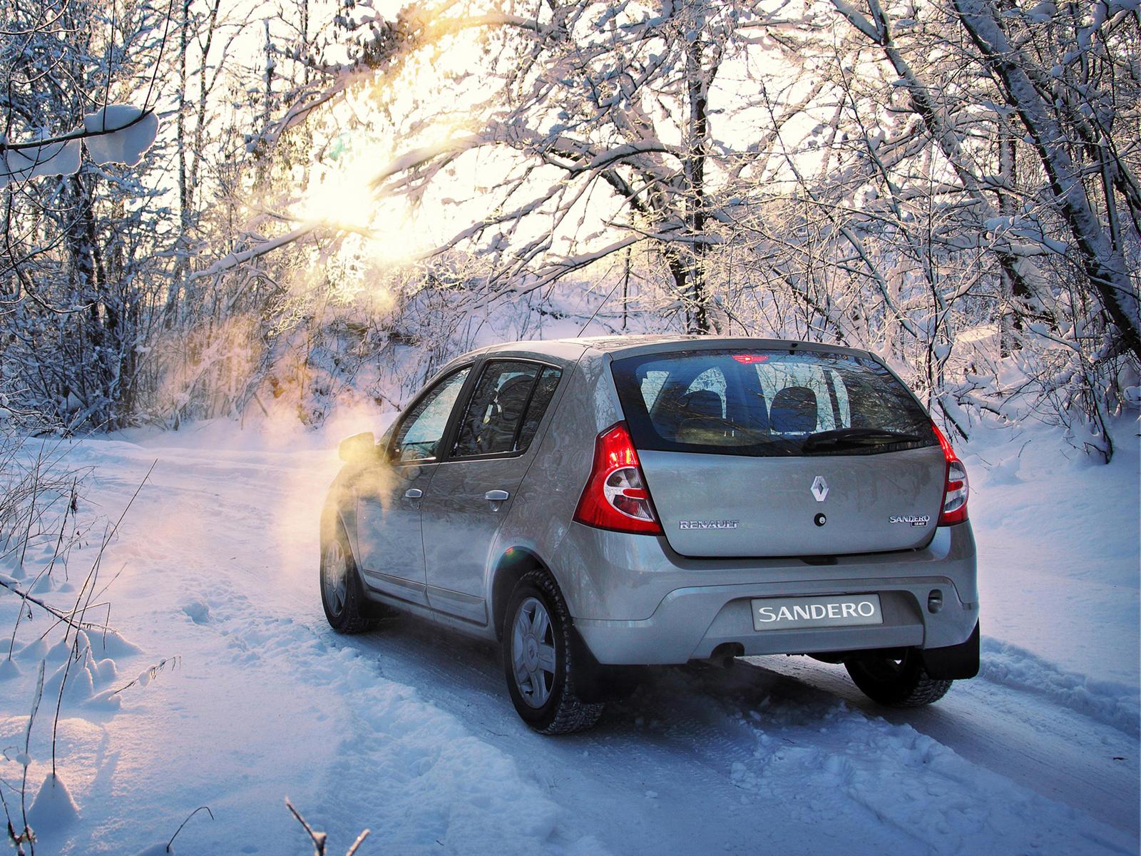Параметры шин для Renault Sandero