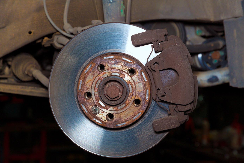 Штатные тормозные диски и вибрация руля на Nissan Teana